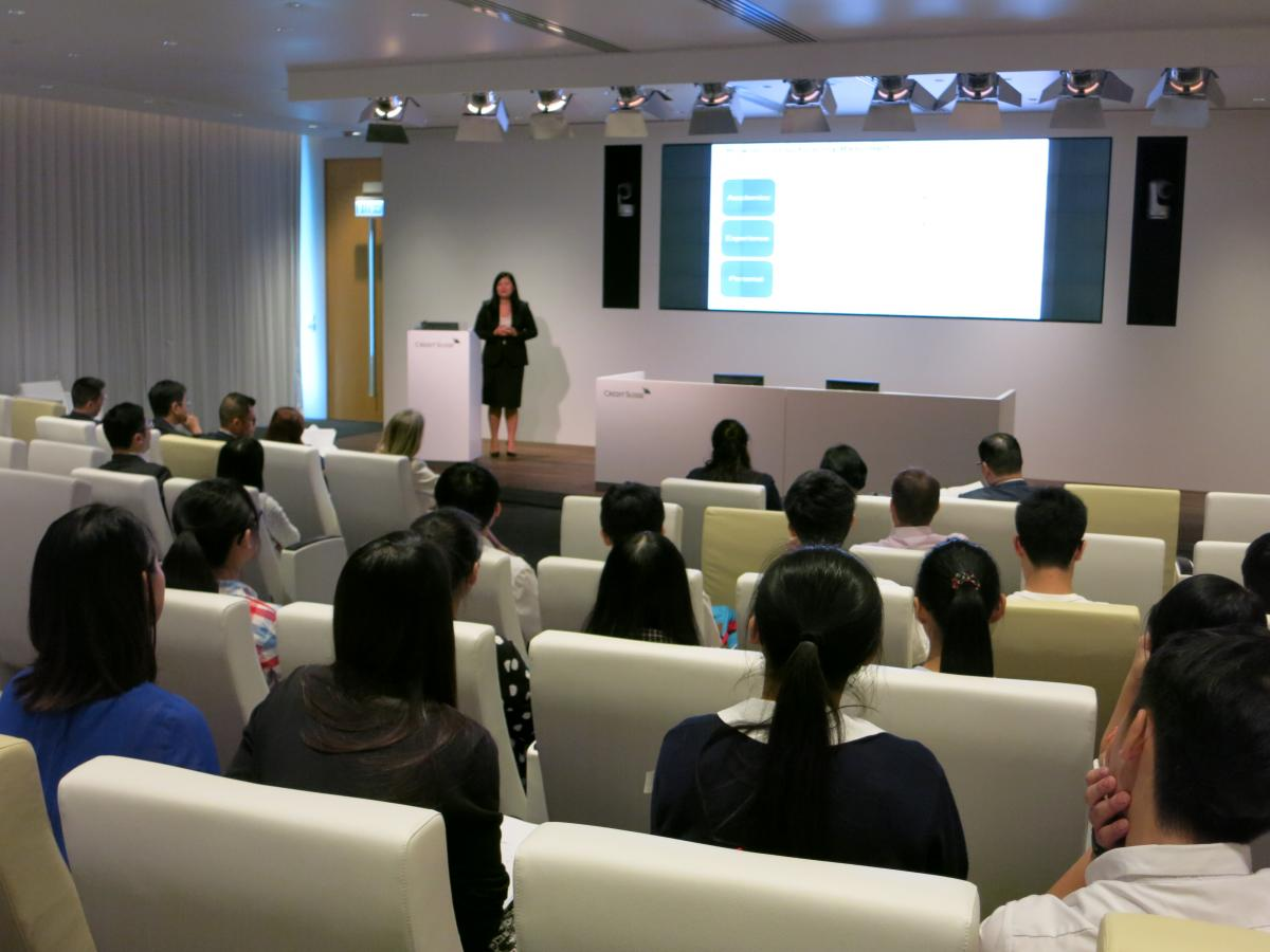Credit Suisse Interview Workshop 2013-2014
